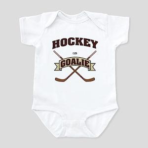 Hockey Goalie Infant Bodysuit
