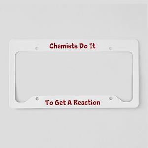 Chemists Do It License Plate Holder