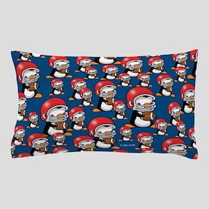 Football Penguins Pillow Case