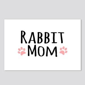 Rabbit Mom Postcards (Package of 8)