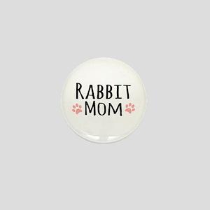 Rabbit Mom Mini Button