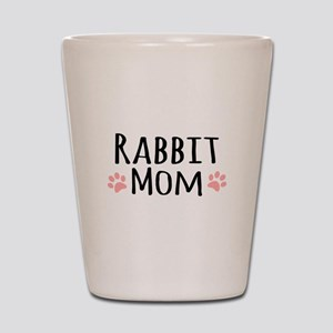 Rabbit Mom Shot Glass
