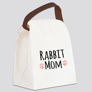 Rabbit Mom Canvas Lunch Bag