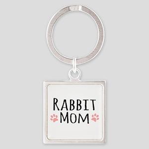 Rabbit Mom Keychains