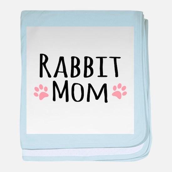 Rabbit Mom baby blanket