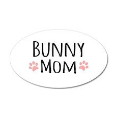 Bunny Mom Wall Decal