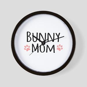 Bunny Mom Wall Clock