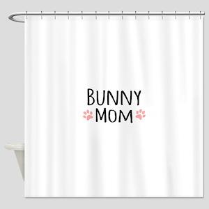 Bunny Mom Shower Curtain