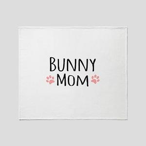 Bunny Mom Throw Blanket