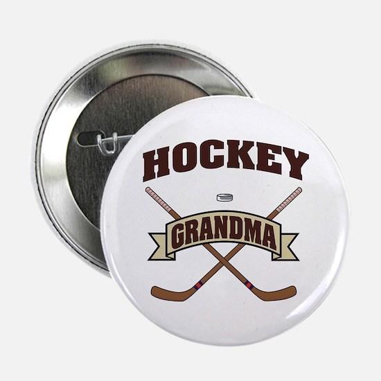 "Hockey Grandma 2.25"" Button"