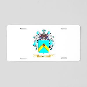 Dax Aluminum License Plate