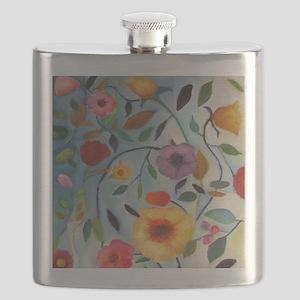 GARDEN FLOWERS Flask