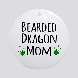 Bearded Dragon Mom Ornament (Round)