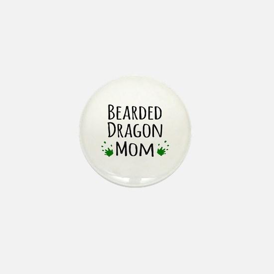 Bearded Dragon Mom Mini Button