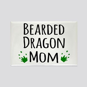 Bearded Dragon Mom Magnets
