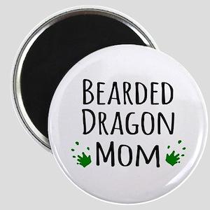 Bearded Dragon Mom Magnets