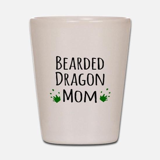 Bearded Dragon Mom Shot Glass