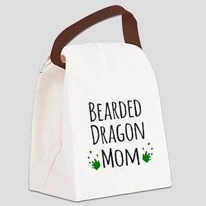 Bearded Dragon Mom Canvas Lunch Bag