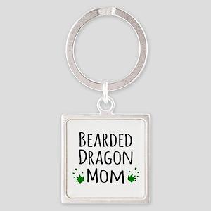 Bearded Dragon Mom Keychains