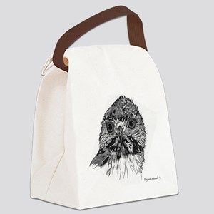 Red-Tailed Hawk Canvas Lunch Bag