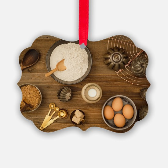 Cute Flour Ornament