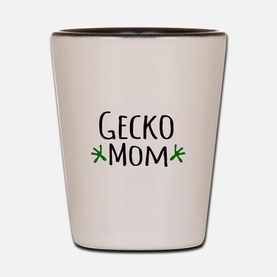 Gecko Mom Shot Glass