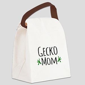 Gecko Mom Canvas Lunch Bag