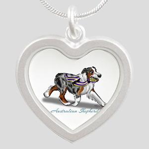 Australian Shepherd Blue Merle Necklaces