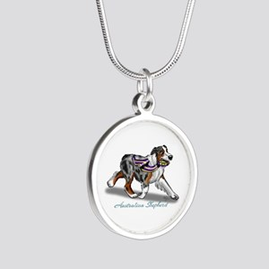 Australian Shepherd Blue Merle Necklaces