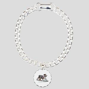 Australian Shepherd Blue Merle Bracelet