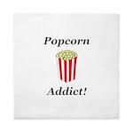 Popcorn Addict Queen Duvet