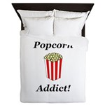 Popcorn Addict Queen Duvet