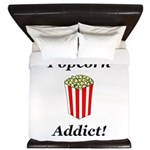 Popcorn Addict King Duvet