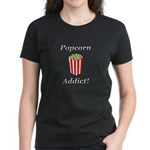 Popcorn Addict Women's Dark T-Shirt