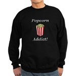 Popcorn Addict Sweatshirt (dark)