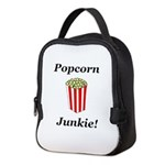Popcorn Junkie Neoprene Lunch Bag