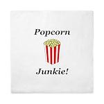 Popcorn Junkie Queen Duvet