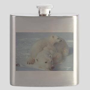 Polar Bear Flask