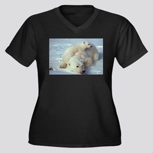 Polar Bear Plus Size T-Shirt