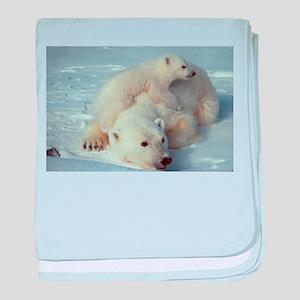 Polar Bear baby blanket