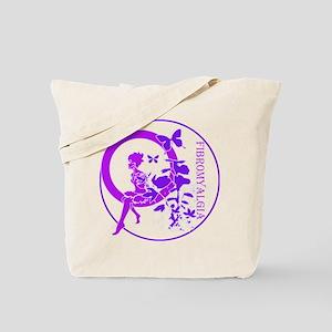 CLEAR FAIRY-FIBROMYALGIA Tote Bag