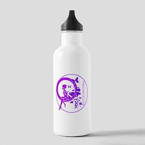 CLEAR FAIRY-FIBROMYALGIA Water Bottle