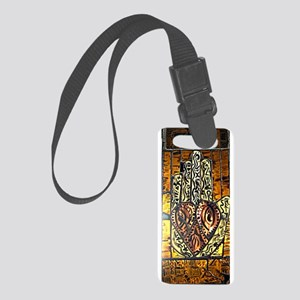 Symbol of Trust Stained Glass Pa Small Luggage Tag