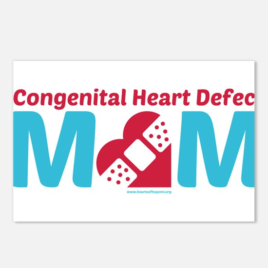 CHD MOM Postcards (Package of 8)