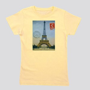 VINTAGE EIFFEL TOWER Girl's Tee