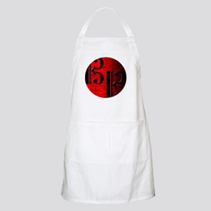 AltoClefRedCircle Apron