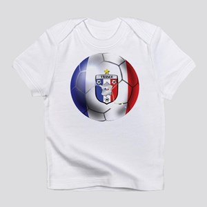 French Soccer Ball Infant T-Shirt