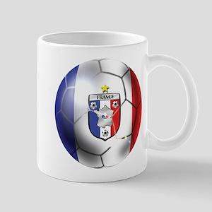 French Soccer Ball Mug