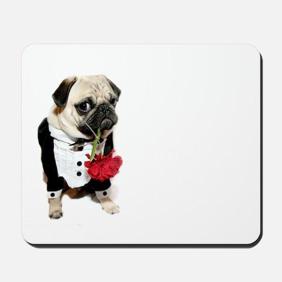 Love Pug Mousepad