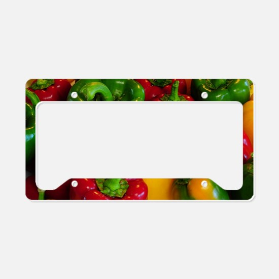 Bell Peppers License Plate Holder